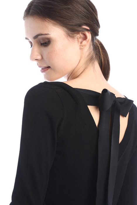 Bow detail sweater Intrend