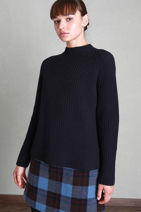 Flannel wool yarn sweater Intrend