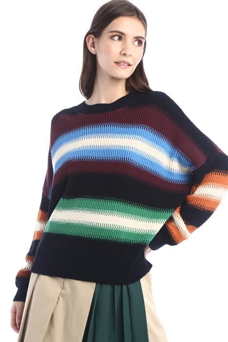 Oversized cordelet sweater Intrend