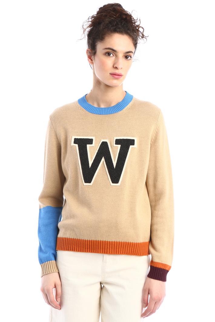 Wool cordelet sweater Intrend