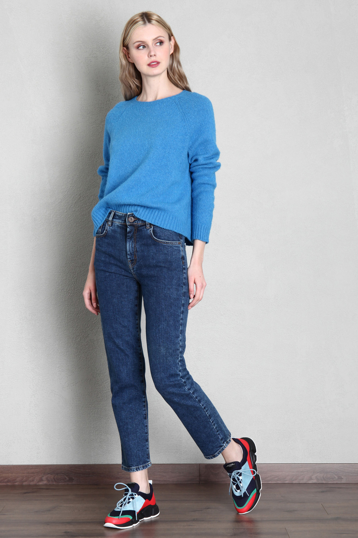 Cotton and alpaca wool sweater Intrend