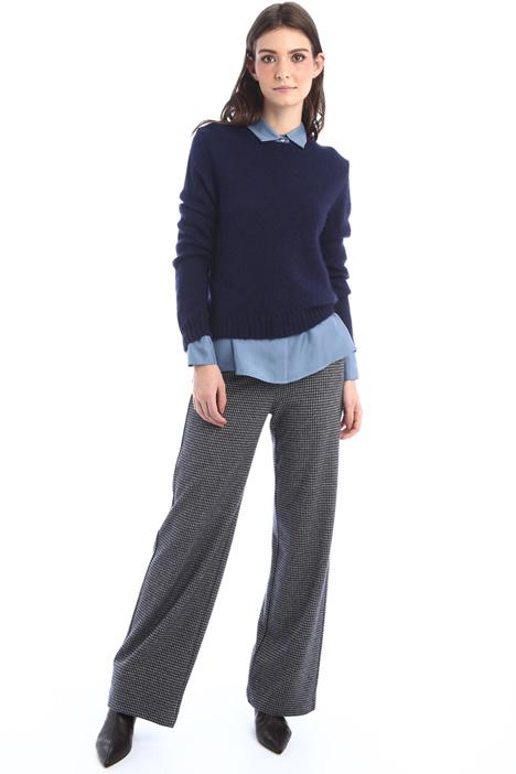 Mohair yarn sweater Intrend
