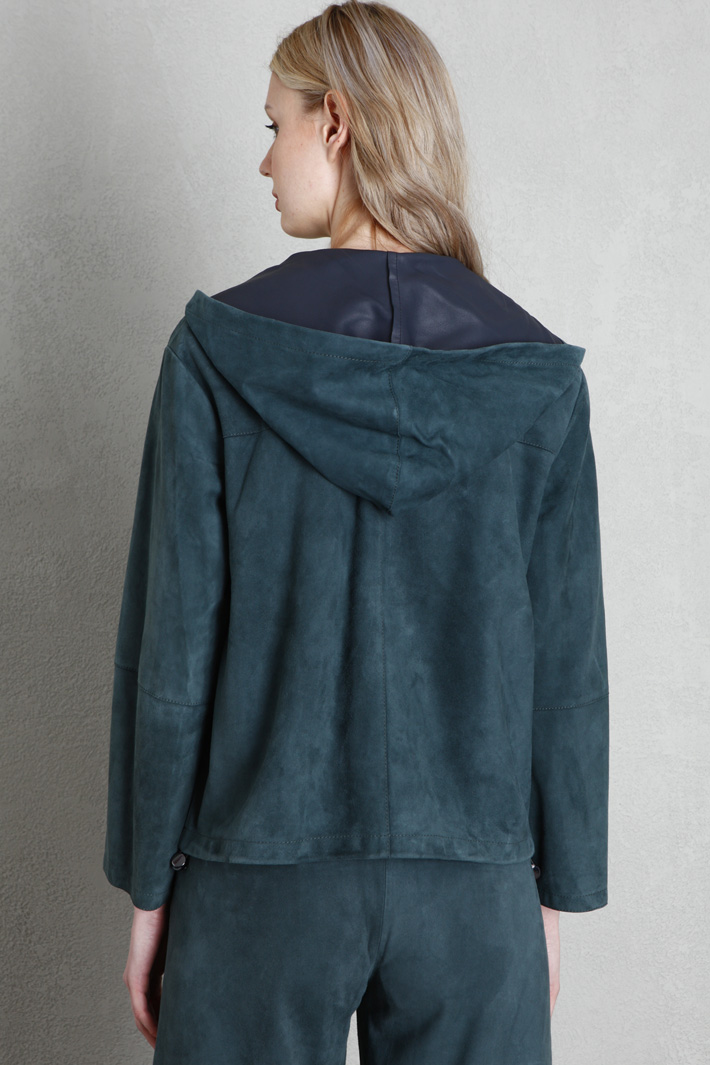 Suede leather jacket Intrend