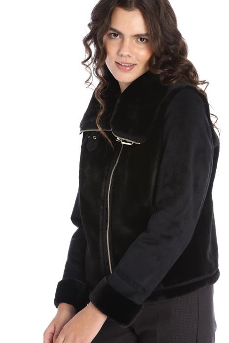 Sheepskin effect jacket Intrend