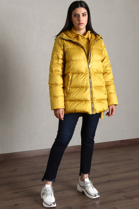 Technical satin down jacket Intrend