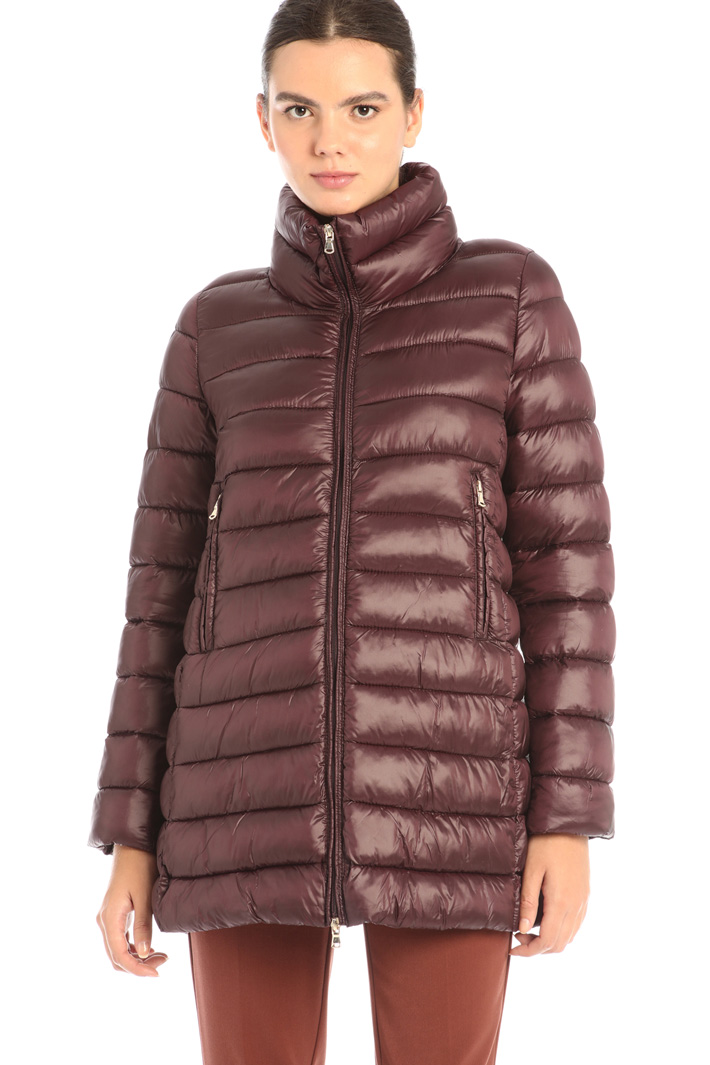 Flared padded coat Intrend