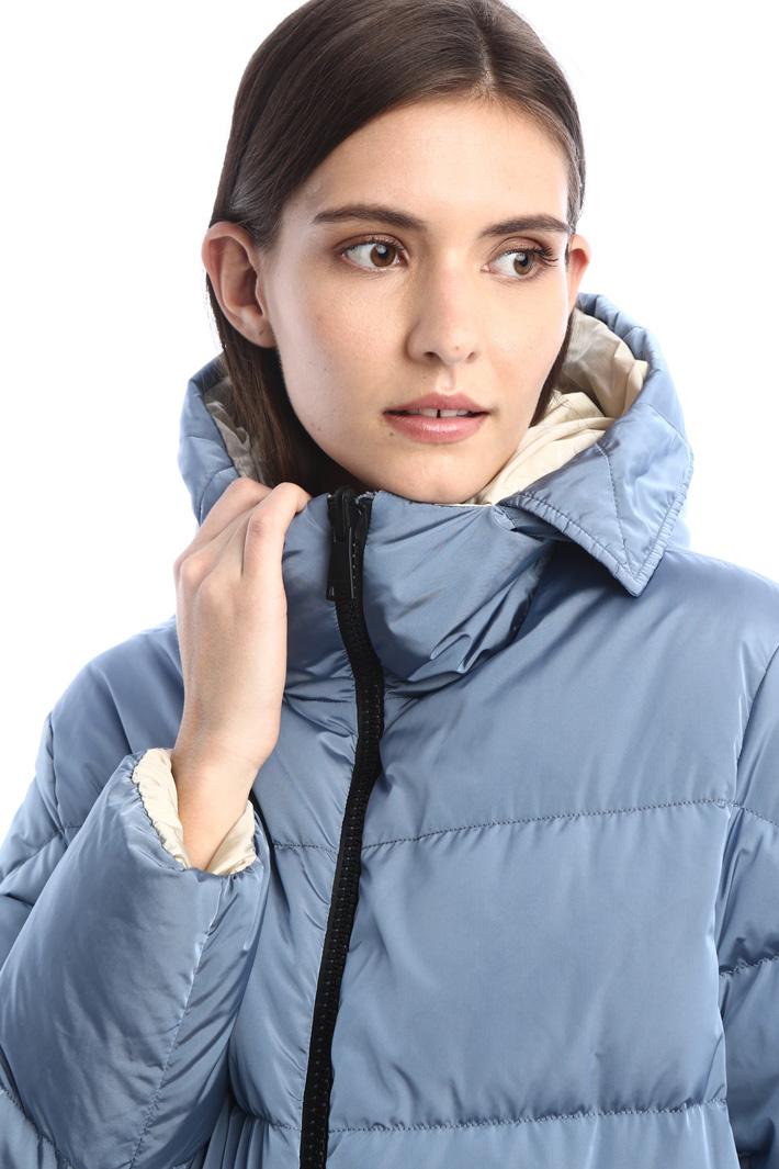 Reversible taffeta down jacket Intrend