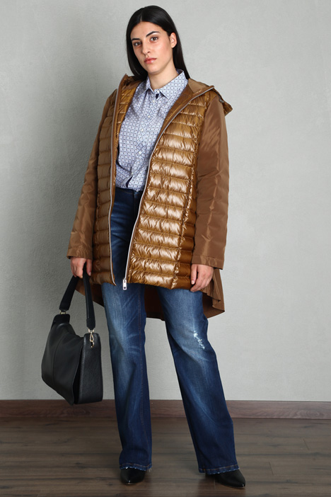 Laminated down jacket  Intrend