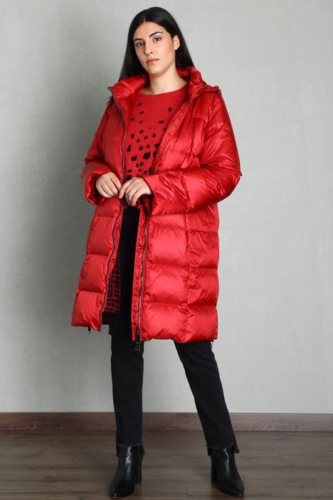 Oversized satin down coat Intrend