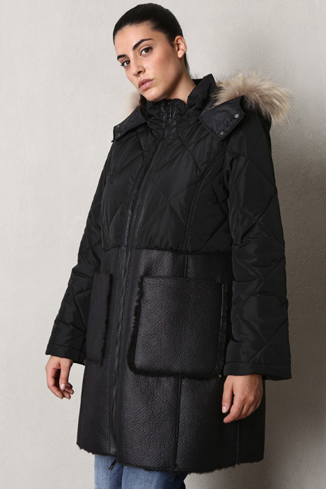 Quilted taffeta down jacket Intrend