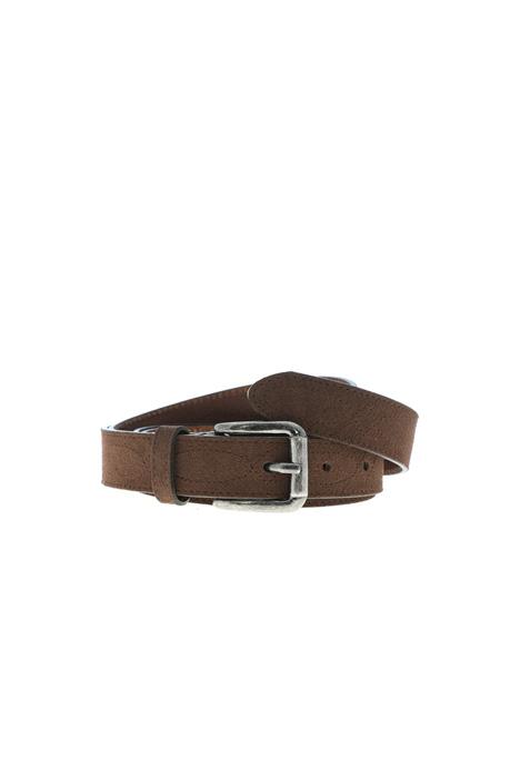 Stitched suede belt Intrend