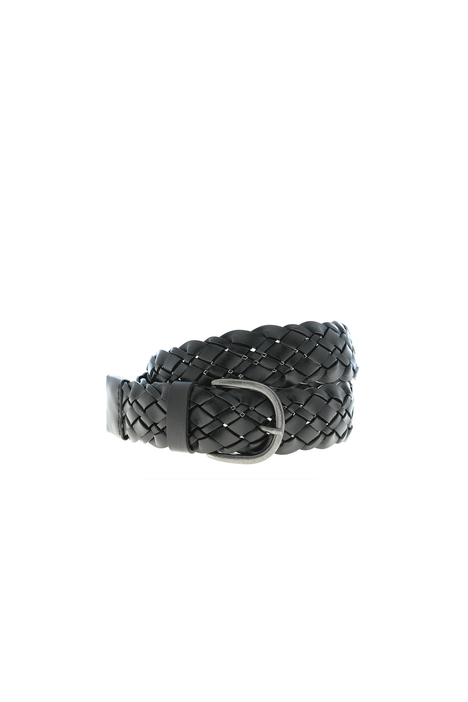Braided leather belt Intrend