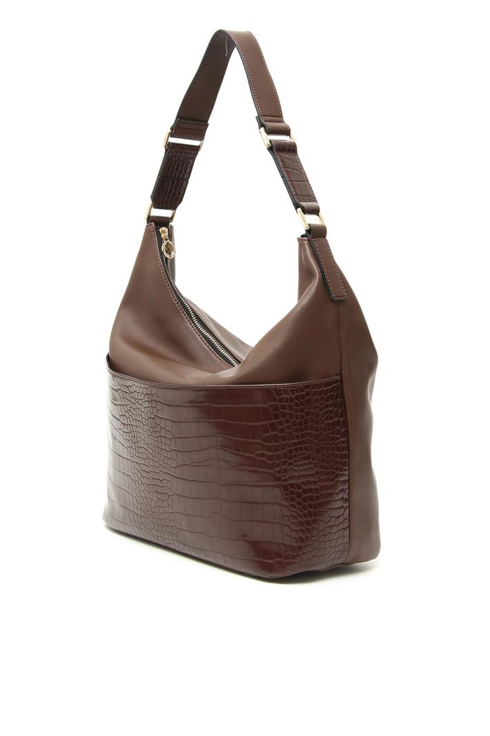Faux-leather shoulder bag Intrend
