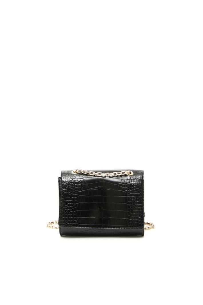 Croc print faux-leather bag Intrend