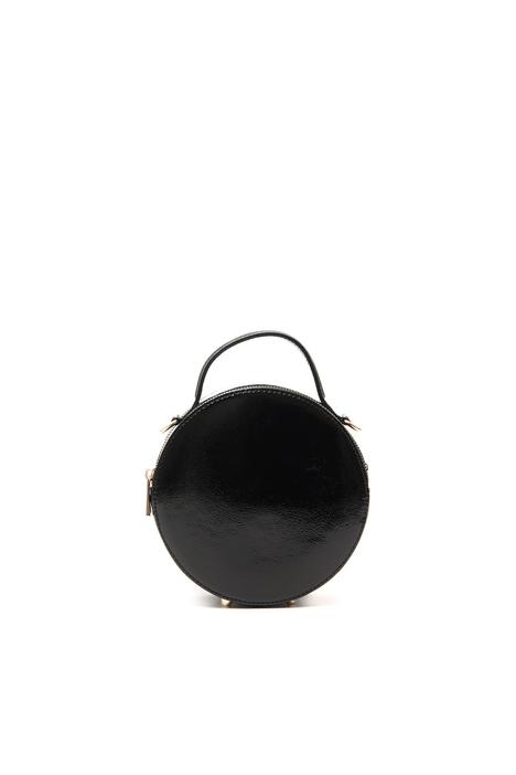 Round varnished bag Intrend