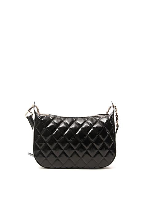 Varnished faux leather bag Intrend