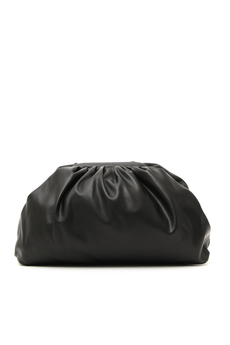 Faux leather maxi clutch Intrend