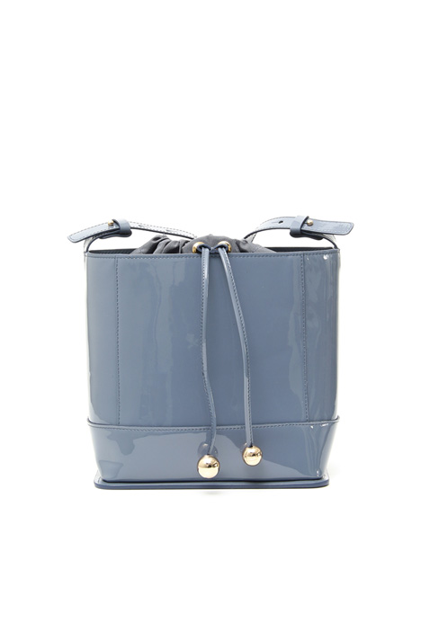 Patent leather bucket bag Intrend