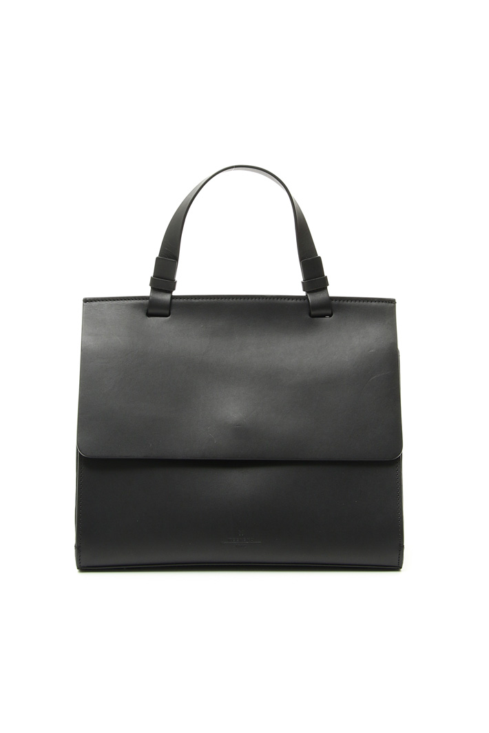 Smooth leather bag Intrend