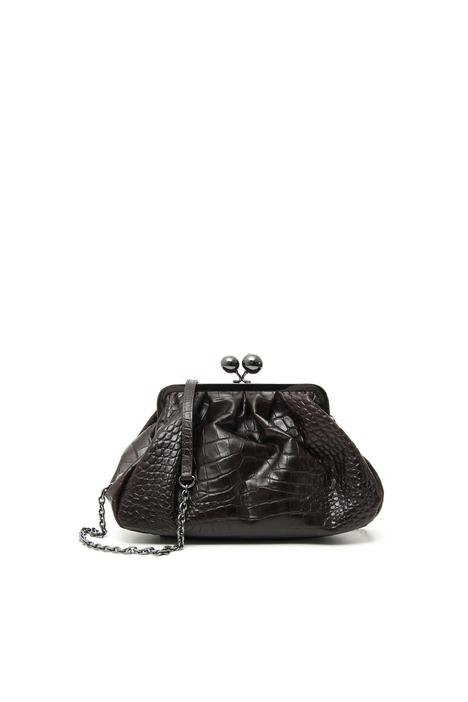 Medium croc-print leather Pasticcino Bag Intrend