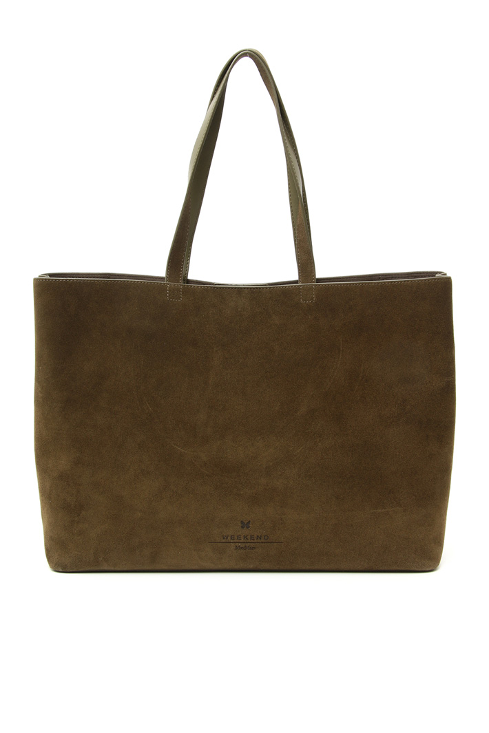 Suede leather shopper bag Intrend