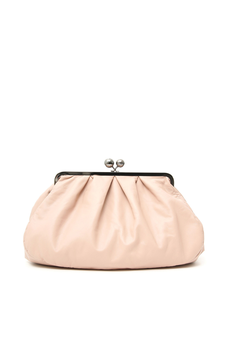 Large leather clutch Intrend