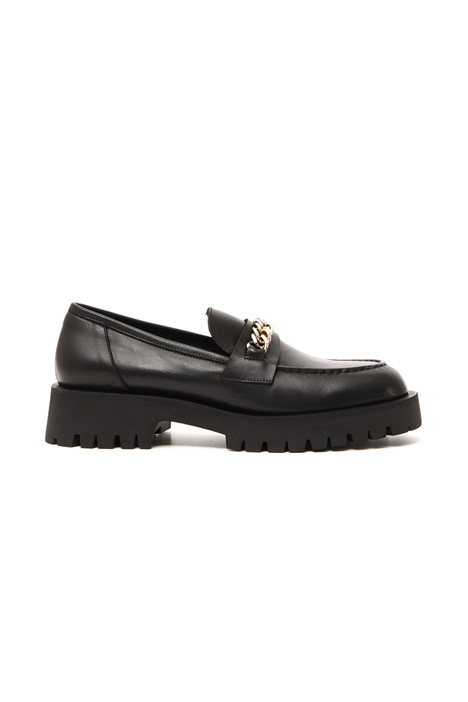 Chain detail moccasin Intrend