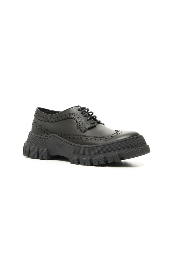 Leather lace-up shoes Intrend
