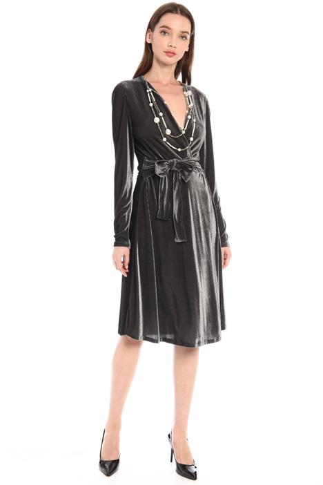 Velvet dress Intrend