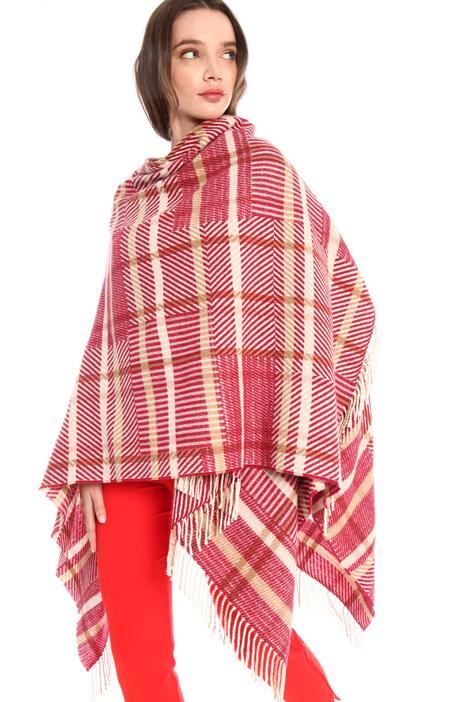 Wool blend cape Intrend