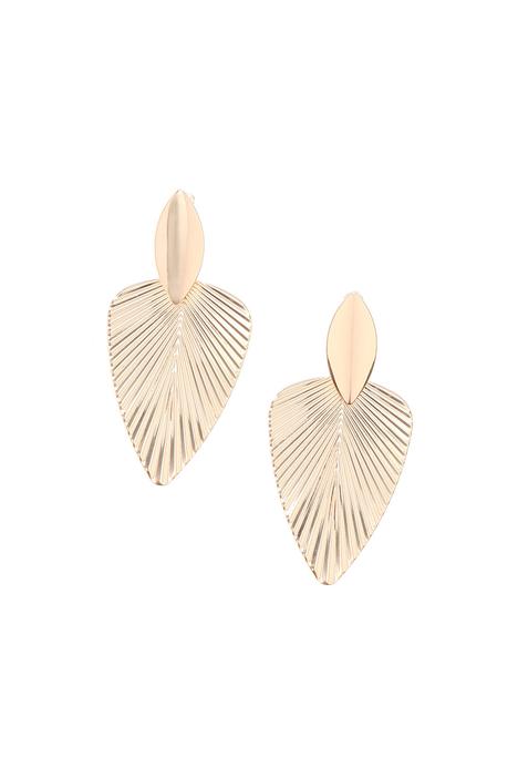 Leave shaped earrings Intrend