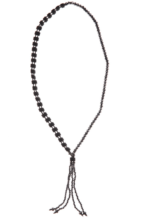 Long rhinestone necklace Intrend