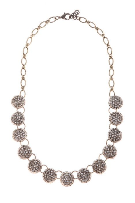 Chain necklace with spheres Intrend