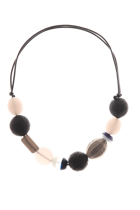 Sphere-detailed necklace Intrend