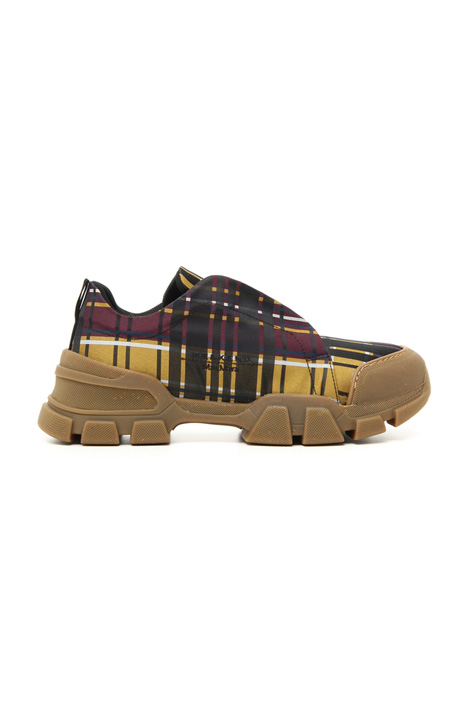 Jacquard fabric trainers Intrend
