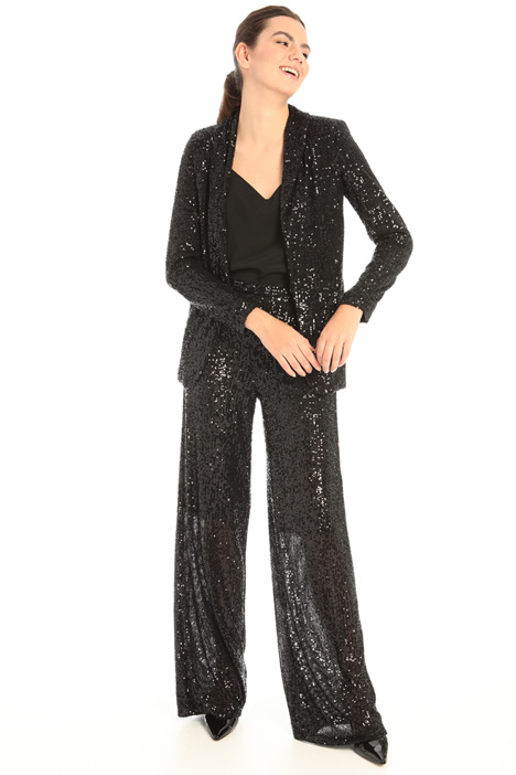 Tulle and sequin trousers Intrend