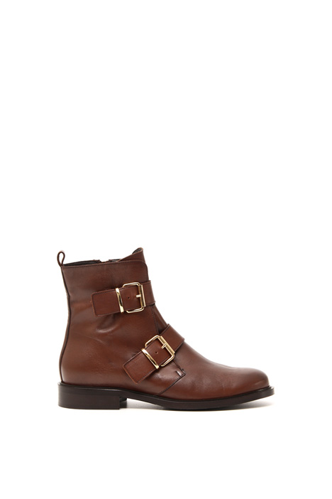 Boots with buckles Intrend