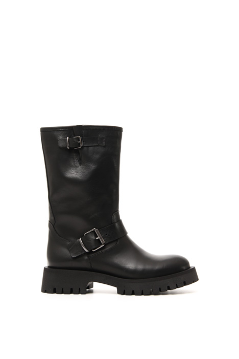 Real leather boots Intrend