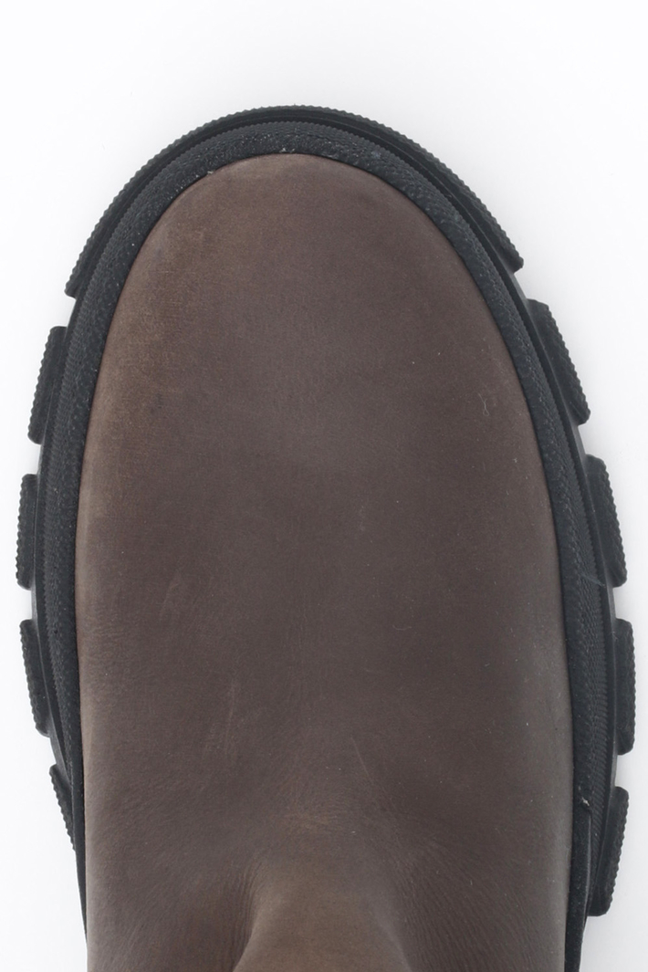 Treaded sole boots Intrend