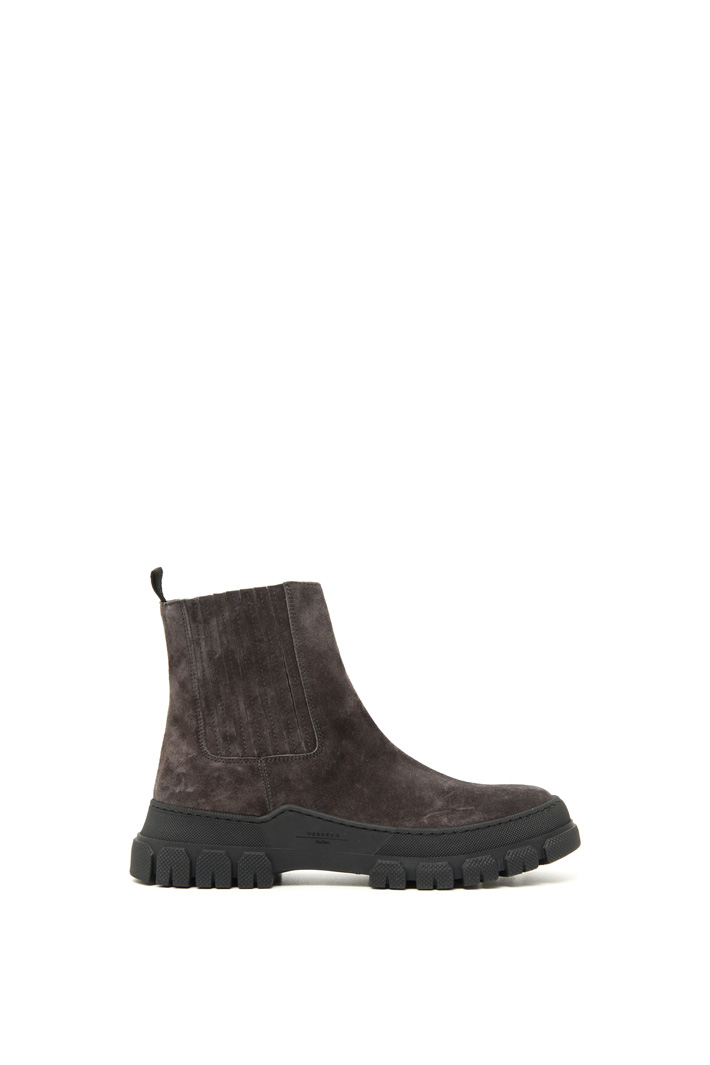 Suede leather ankle boots Intrend