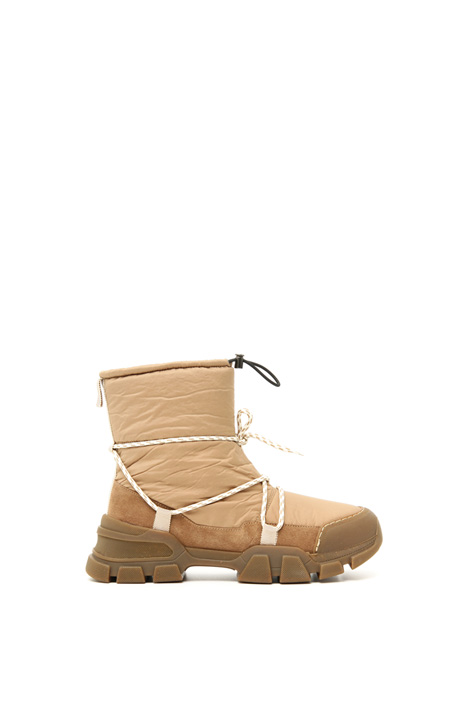 Technical canvas ankle boot Intrend