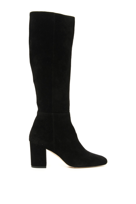 Suede leather boot Intrend