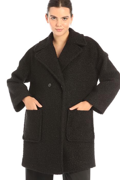 Bouclé coat Intrend