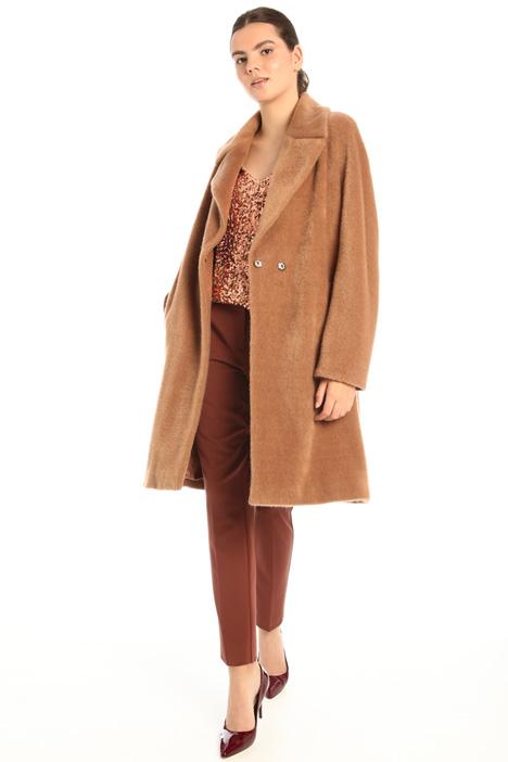 Plush coat Intrend