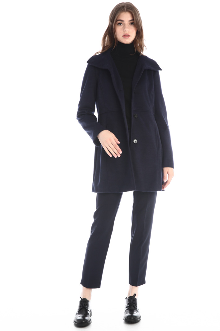 Cloth fabric coat Intrend