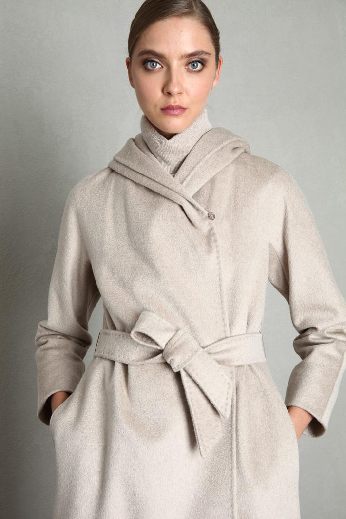 Cappotto vestagliato in drap Intrend