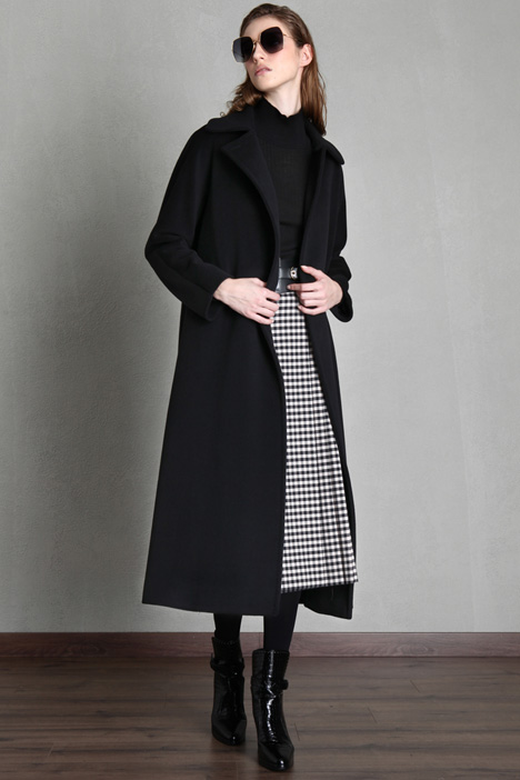 Coat in wool beaver Intrend
