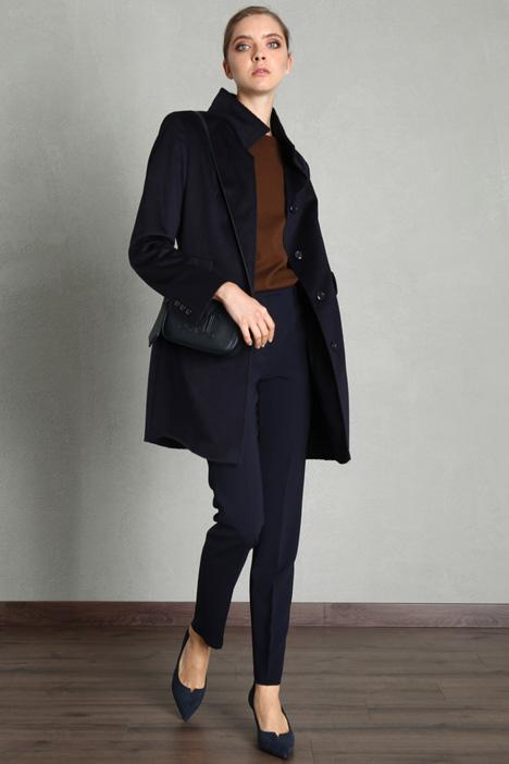 Slim fit wool coat Intrend