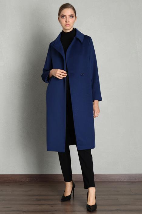 Cappotto vestagliato in lana Intrend
