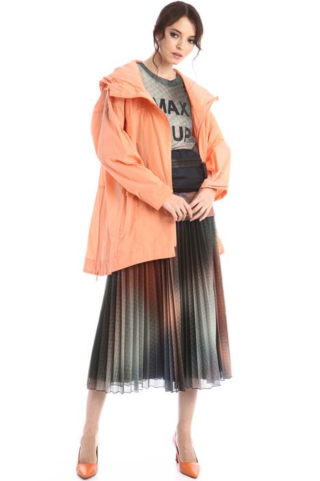 Asymmetrical raincoat Intrend